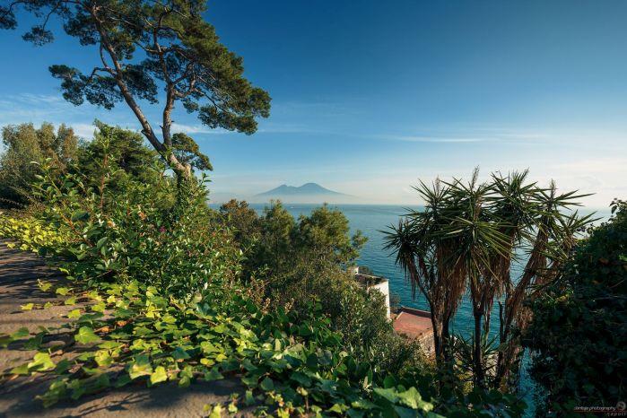 Un parco di Napoli
