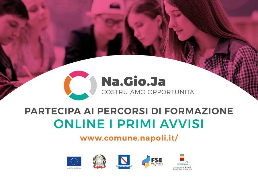 """Selezione di 45 giovani partecipanti da destinare a 2 percorsi formativi """"Creative Lab Napoli"""" e """"S.O.S. Alzheimer"""""""