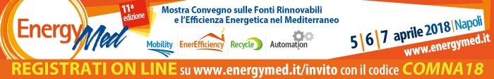 EnergyMed 2018 - Green Circular Economy in mostra