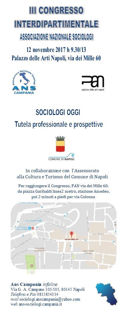 Sociologi oggi: tutela professionale e prospettive