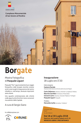 San Severo al Pendino - BORGATE Mostra fotografica di Pasquale Liguori