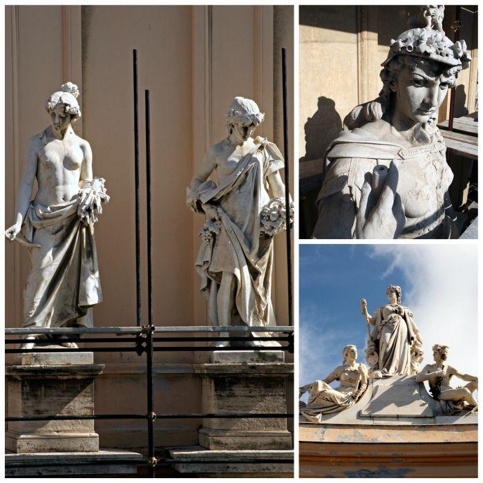 I giganti di pietra della Galleria Umberto I. Diventa protagonista della loro rinascita