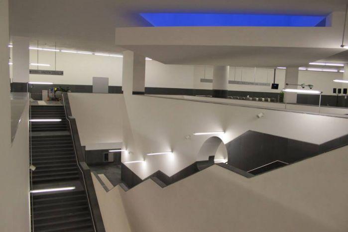 La stazione metro di piazza Municipio