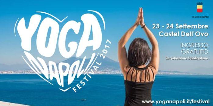 YogaNapoli Festival 2017: il primo Festival dello Yoga a Napoli