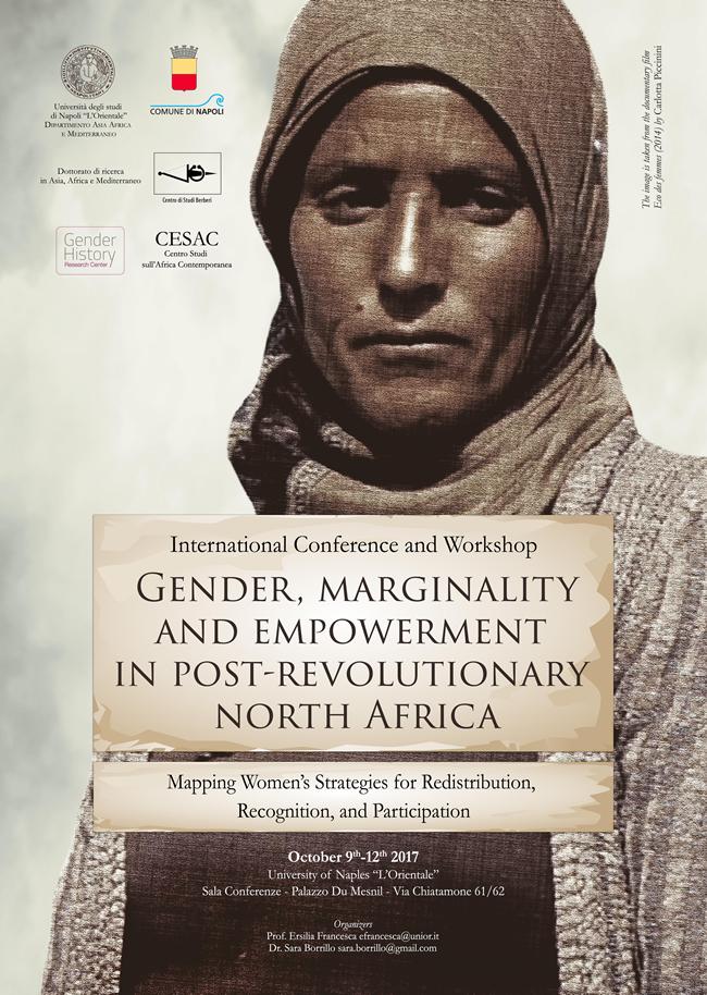 Conferenza e workshop: Genere, marginalità e empowerment in nord africa nella fase post-rivoluzioni