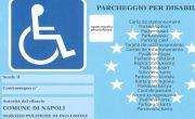 Contrassegno per disabili comune di napoli