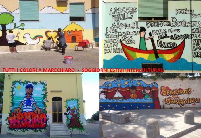 Tutti i colori estivi a Marechiaro - Soggiorni estivi interculturali