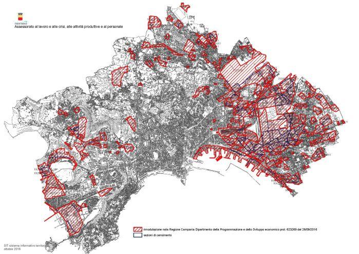Aree di crisi industriale non complessa a Napoli