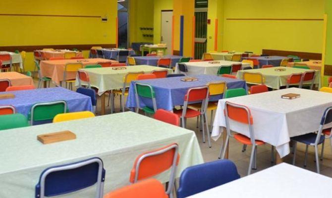 immagine mensa scolastica