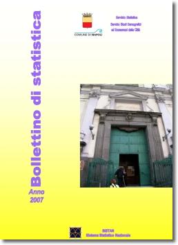 copertina bollettino di statistica 2007