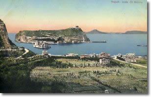 veduta dell'isola di Nisida, anno 1850