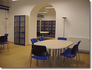 una immagine della biblioteca
