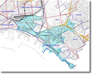 planimetria della zona franca urbana