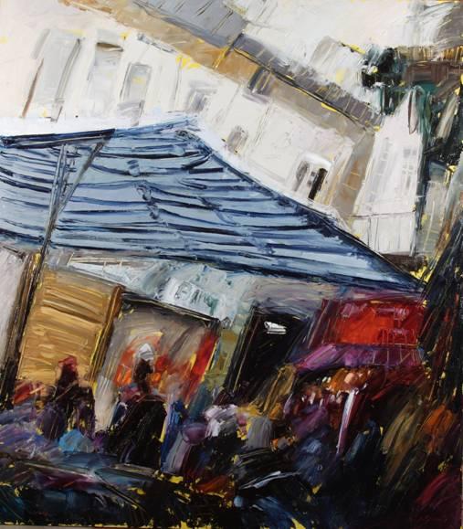 Le ombre della croce del sud&; mario ferrante dipinti 2005-2006