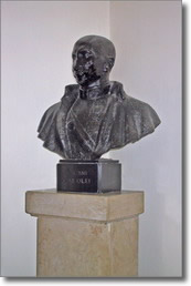 busto in bronzo di Carolei Gaetano