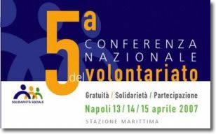 logo Quinta Conferenza Nazionale del Volontariato