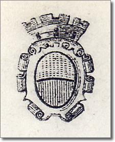 lo stemma civico nell'anno milleottocentosessantasei