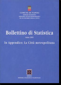logo bollettino di statistica 2001
