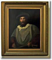 quadro raffigurante Giuseppe Garibaldi