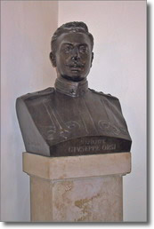 busto in bronzo di Orsi Giuseppe
