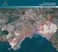 carta delle trasformazioni urbane previste dal nuovo Prg, inquadrata nell'area metropolitana ripresa dal satellite (519.05 KB)