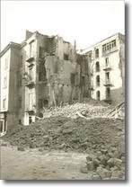 palazzi distrutti da bombardamento