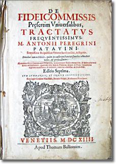 frontespizio di antico libro
