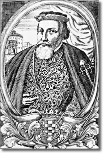 antica incisione raffigurante don Pedro de Toledo