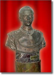 busto di Vittorio Emanuele terzo