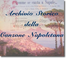 logo dell'archivio storico della canzone napoletana