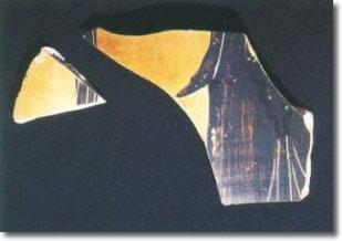 frammenti di anfora antica