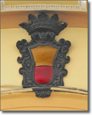 stemma civico con corona ducale