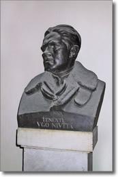 Busto in bronzo di Niutta Ugo