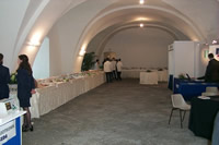 picture of an interior hall in Castel dell'Ovo