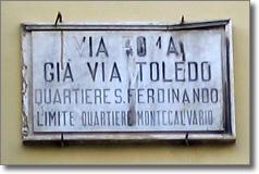 antica targa stradale