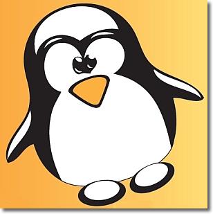 il pinguino simbolo del sistema operativo Linux