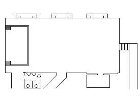 piantina della sala
