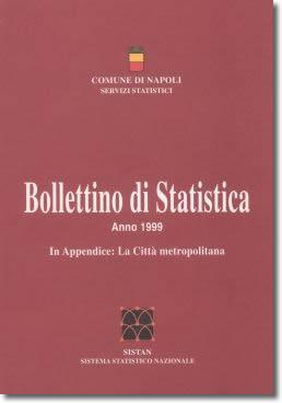 logo bollettino di statistica 1999