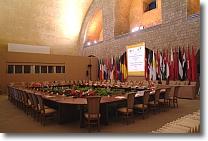 sala Italia in occasione di un evento di carattere internazionale