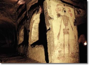 la catacomba di san gaudioso