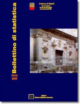 copertina bollettino di statistica 2005