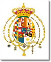 stemma della Casa reale di Borbone - Due Sicilie