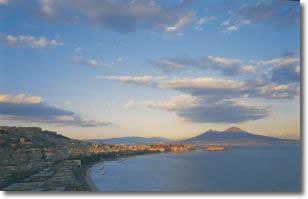 vista del golfo di Napoli
