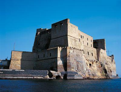 vista esterna del castello