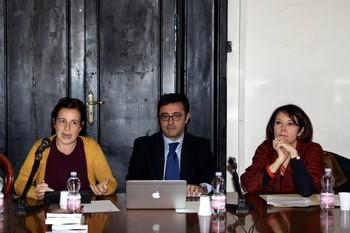 Simona Molisso, Gennaro Esposito e Giuliana Cacciapuoti