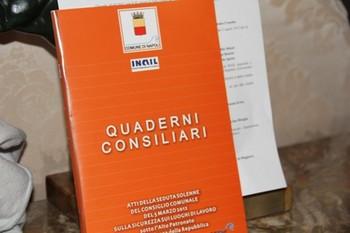 La copertina della II edizione dei Quaderni Consiliari