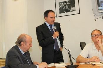 Danilo Risi parla a nome del Vicesindaco Sodano