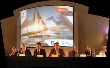 Cerimonia di apertura  a Castel dell'Ovo il 6 aprile 2012