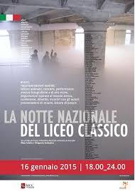 Locandina de La notte nazionale del Liceo Classico