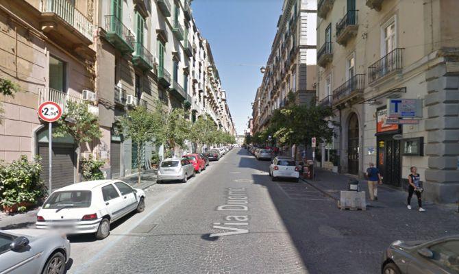 Via Duomo vista da Google Maps